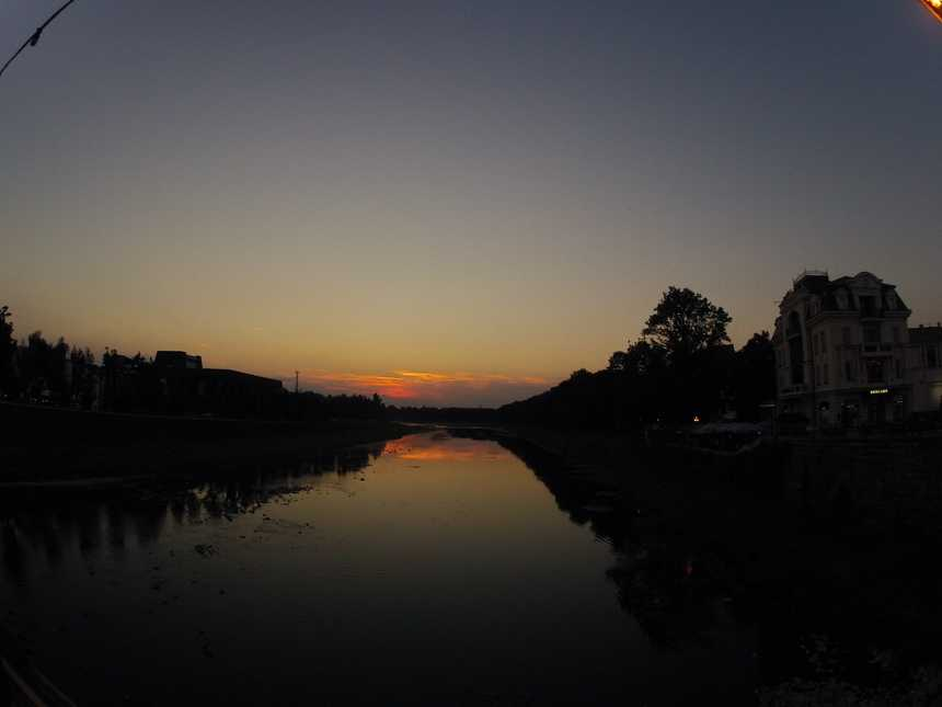 Ужгород захід сонця