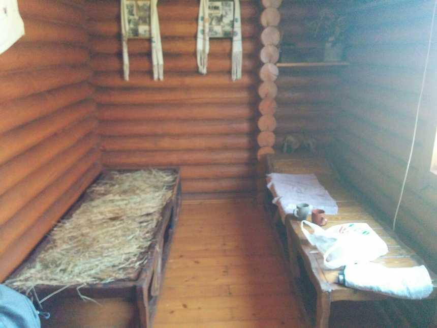 Лазня у с. Минай кімната відпочинку